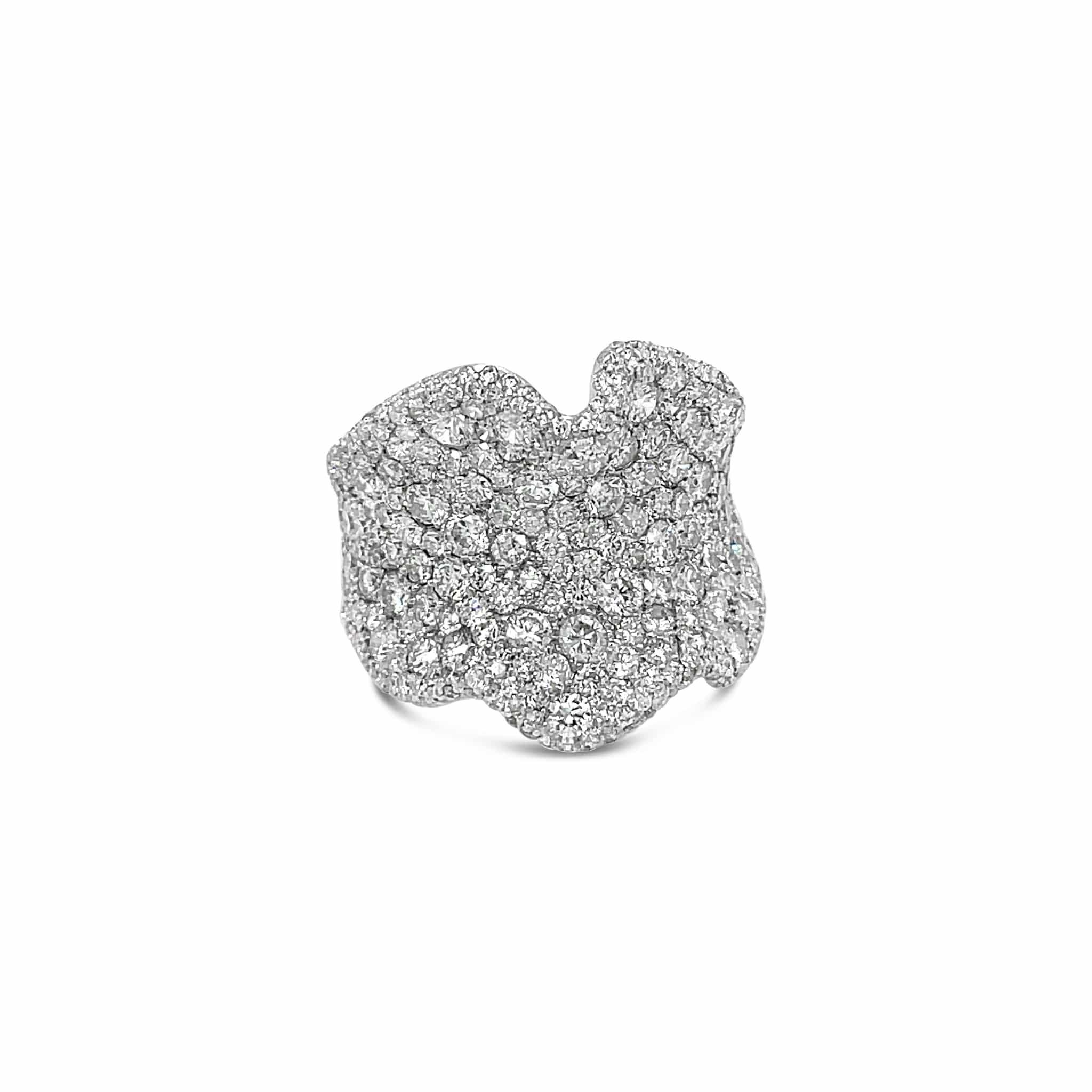 Salavetti Diamond Cocktail Ring
